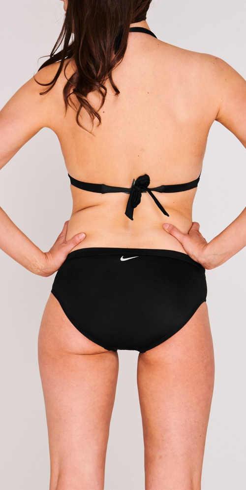 Čierne dámske bikiny Nike