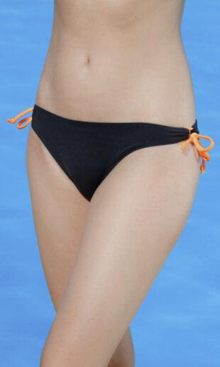 Nízke čierne plavkové nohavičky Triola 96203