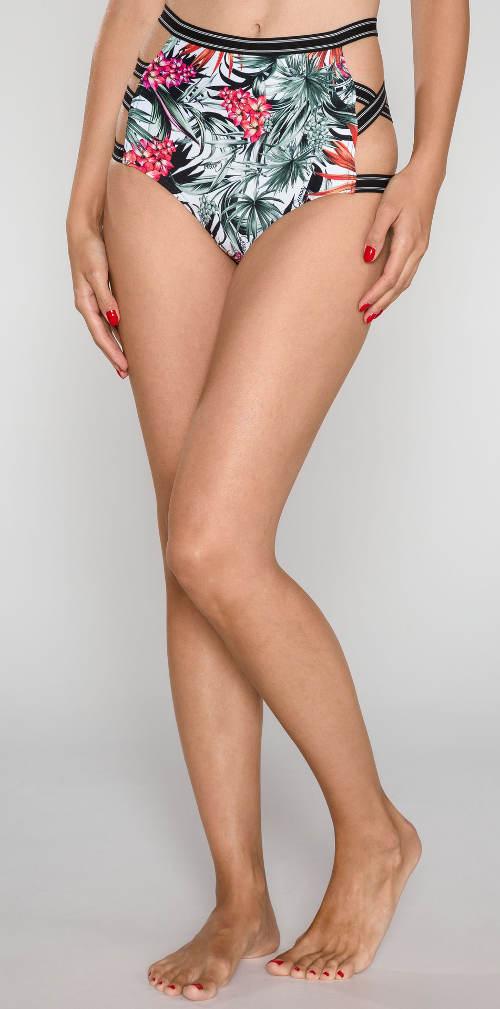 Vysoké plavkové nohavičky Guess so sexy prestrihmi