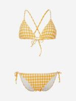 Dvojdielne plavky O'Neill s moderným károvaným vzorom