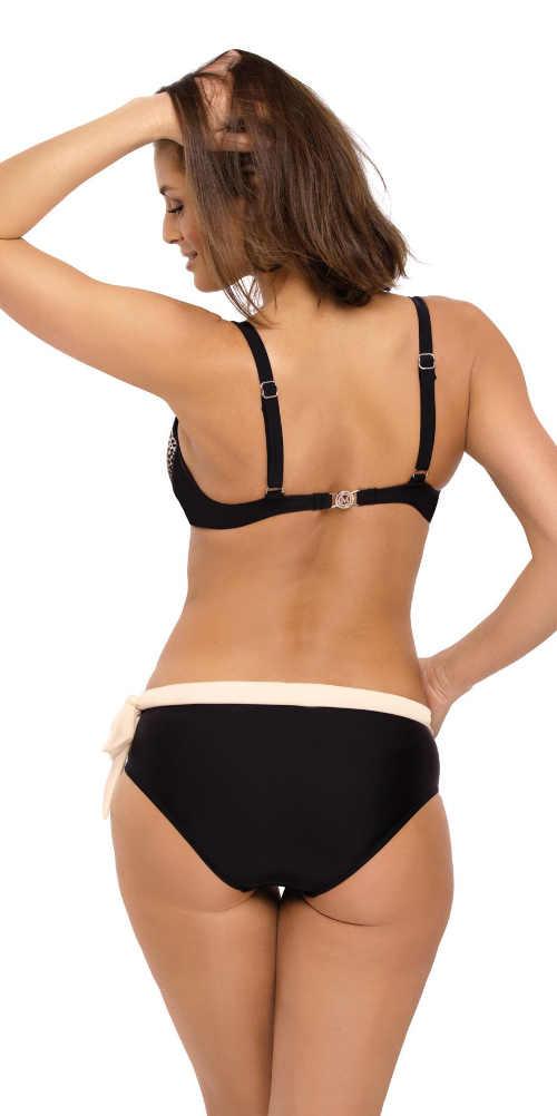 Pohodlné plavky pre väčšie poprsie so širšími ramienkami