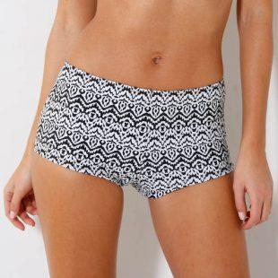 Vyššie dámske plavecké nohavice