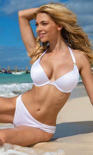 Dorina Jamaica jednodielne biele dvojdielne plavky pre ženy